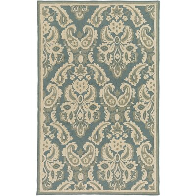 Bellville Ivory Hand-Hooked Indoor/Outdoor Area Rug Rug Size: Rectangle 8 x 10