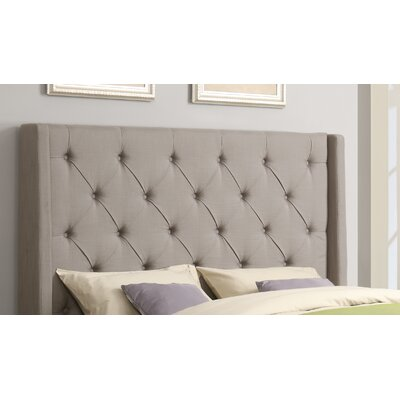 Basco Upholstered Wingback Headboard