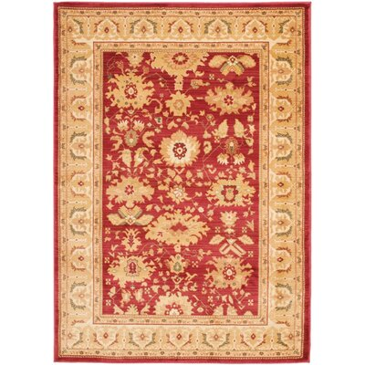 Blue Point Red/Cream Area Rug
