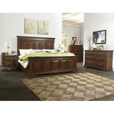 Alvina Panel 5 Piece Bedroom Set