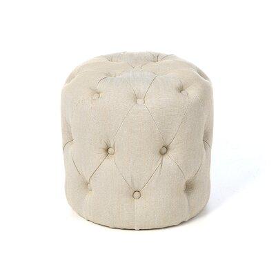 Wolstonton Cocktail Ottoman Upholstery: Beige