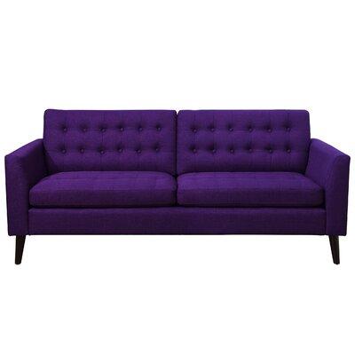 Starner Tufted Sofa Upholstery: Radiant Violet