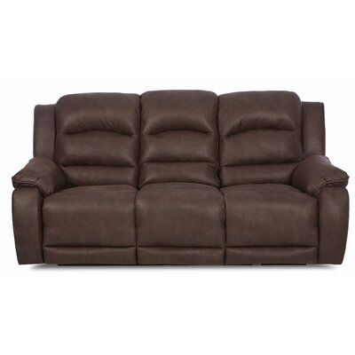 Baton Rouge Sofa with Headrest and Lumbar Support
