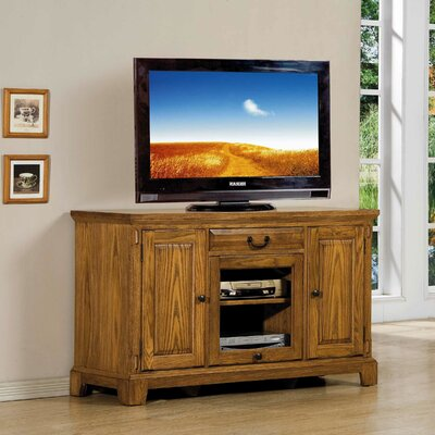 Schueller 54 TV Stand Color: Light Oak