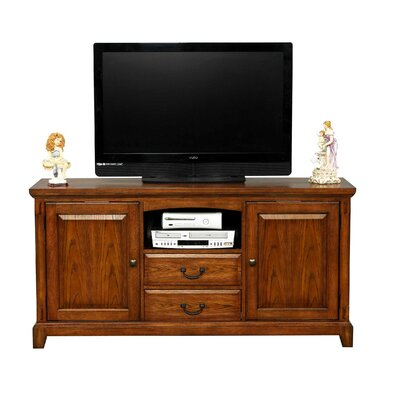 Schueller 64 TV Stand Color: Medium Oak