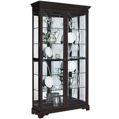 Blakeway Lighted Curio Cabinet