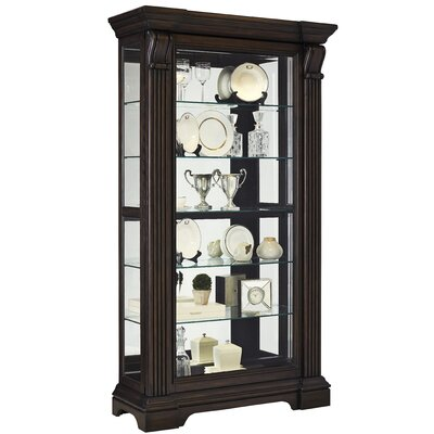 Glencoe Lighted Curio Cabinet