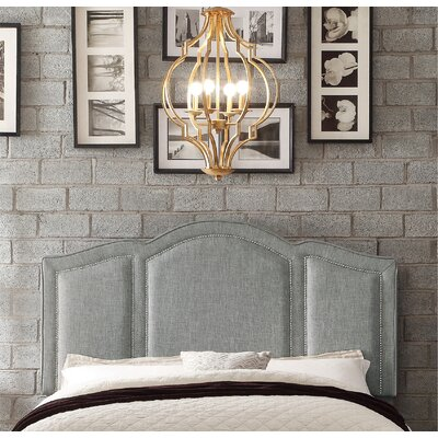 Niagara Queen Upholstered Panel Headboard Upholstery: Linen