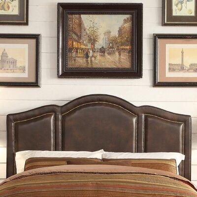 Niagara Queen Upholstered Panel Headboard Upholstery: Espresso