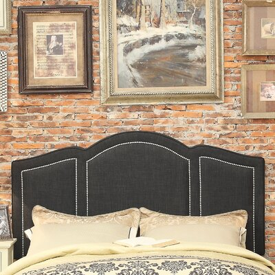 Niagara Queen Upholstered Panel Headboard Upholstery: Charcoal