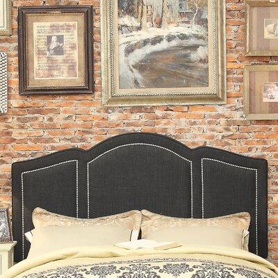 Niagara Queen Upholstered Panel Headboard Upholstery: Charcoal