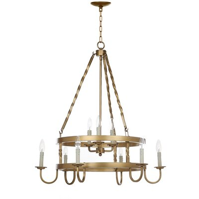 Anders 9-Light Shaded Chandelier