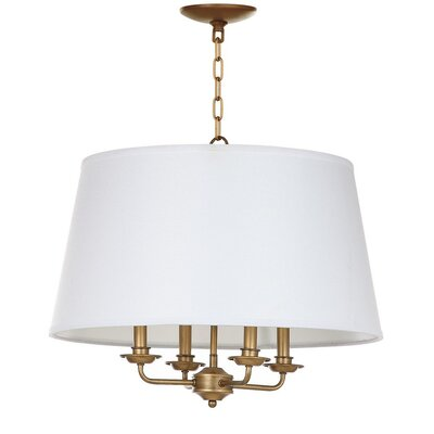 Austintown 4-Light Shaded Chandelier