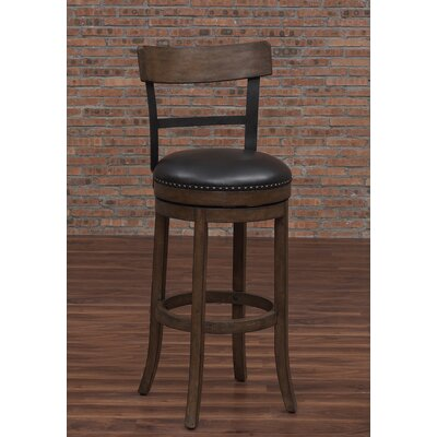 Carondelet 30 Swivel Bar Stool with Cushion