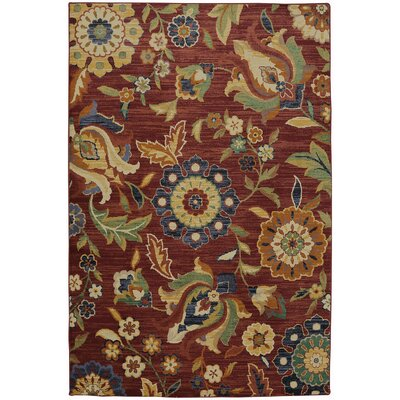 Boutell Berry Area Rug Rug Size: Rectangle 8 x 11
