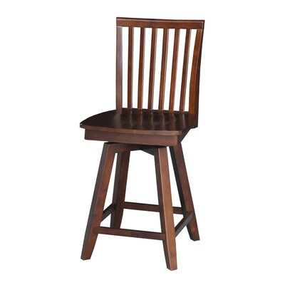 Bowdoin 24 inch Swivel Bar Stool