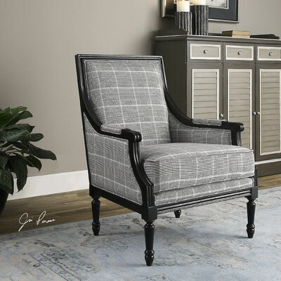 Branchdale Wood Frame Arm Chair