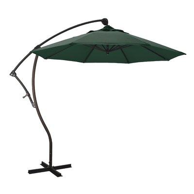 9' Welwyn Cantilever Umbrella Fabric: Sunbrella - Forest Green DBHC4549 29934164