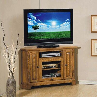 Schueller Corner 47 TV Stand Color: Light Oak