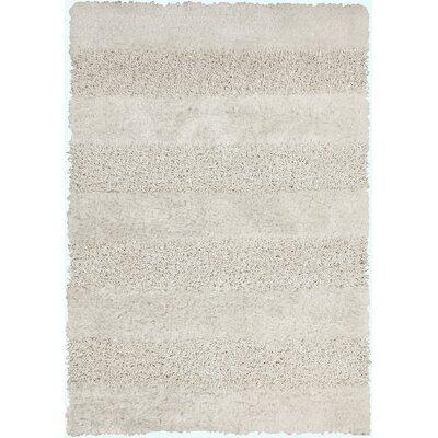 Winfrey White Area Rug Rug Size: 9 x 13