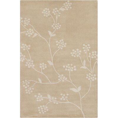 Baker Hand Tufted Wool Beige/Cream Area Rug