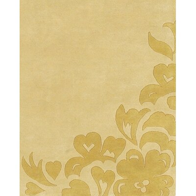 Boulder Creek Gold Area Rug Rug Size: 79 x 106