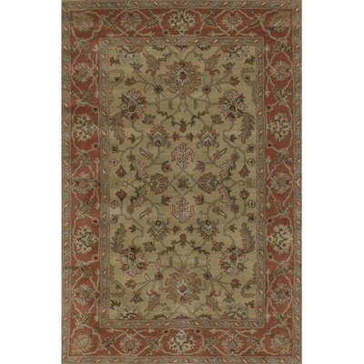 Brittin Brown Area Rug Rug Size: Rectangle 79 x 106