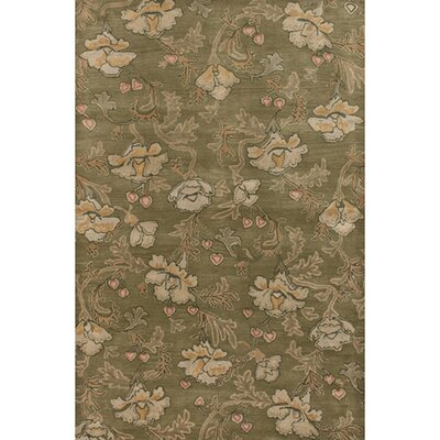 Brittin Brown/Tan Area Rug Rug Size: Rectangle 2 x 3