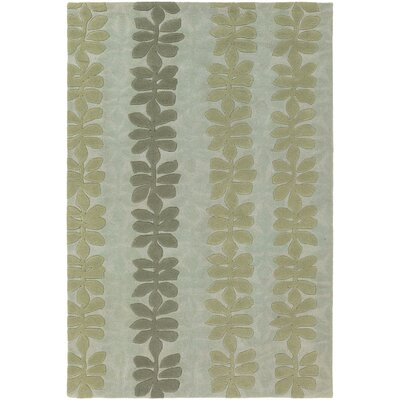 Pearcy Blue/Grey Area Rug Rug Size: Rectangle 5 x 76