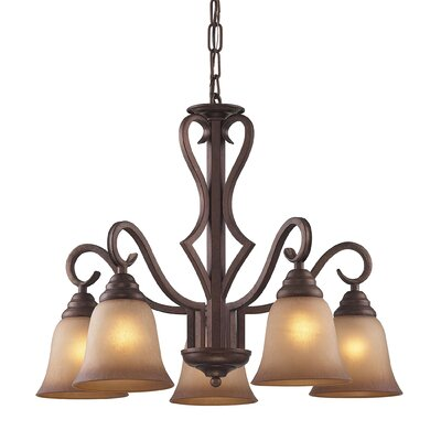 Rosenblum 5-Light Shaded Chandelier