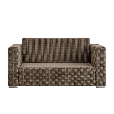 Rathdowney Loveseat Finish: Mocha