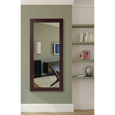 Dark Mahogany Floor Mirror