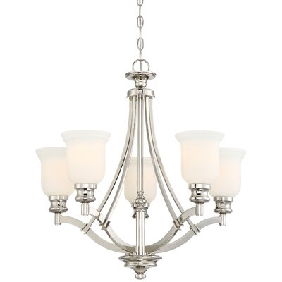 Ameche 5-Light Shaded Chandelier