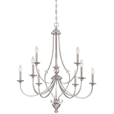 Audane 9-Light Candle-Style Chandelier