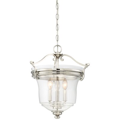 Ameche 3-Light Inverted Pendant