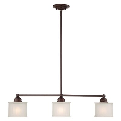 Ancram 3-Light Kitchen Island Pendant