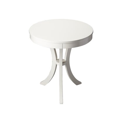Sunningdale End Table Color: Glossy White