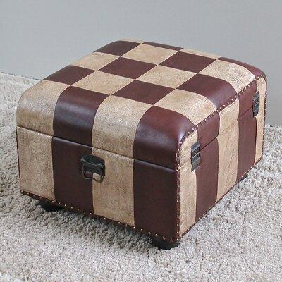 Storage Ottoman Upholstery: Mix