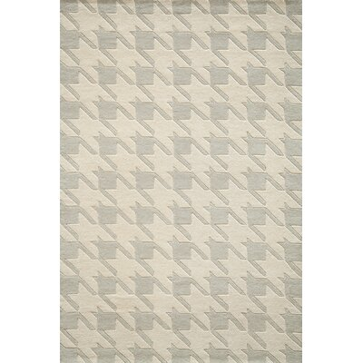 Wehmeyer Hand-Tufted Gray Area Rug Rug Size: 5 x 8