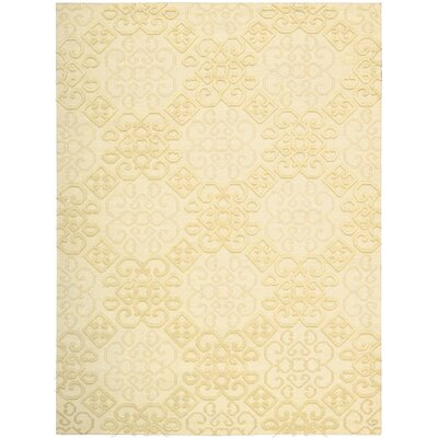 Cedarwood Hand-Woven Linen Area Rug Rug Size: Rectangle 56 x 75