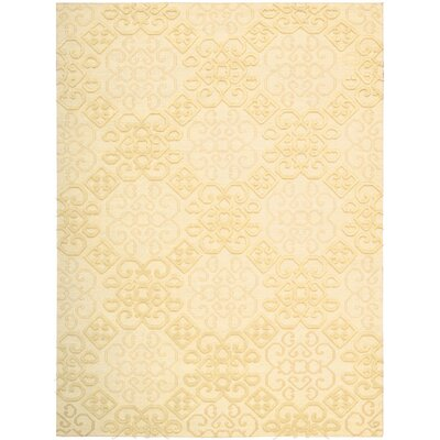 Cedarwood Hand-Woven Linen Area Rug Rug Size: Rectangle 3'9