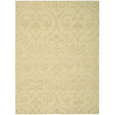 Cedarwood Hand-Woven Straw Area Rug Rug Size: Rectangle 56 x 75
