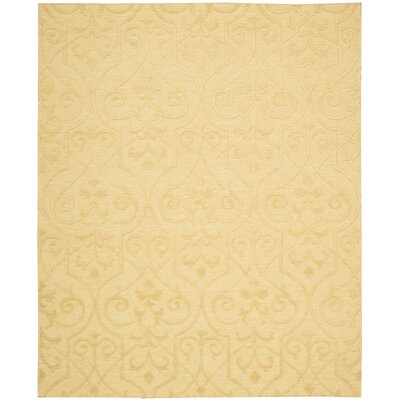 Cedarwood Hand-Woven Straw Area Rug Rug Size: Rectangle 9'9