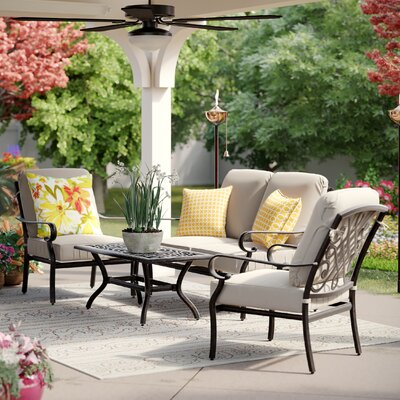 Sigel 4 Piece Deep Seating Group