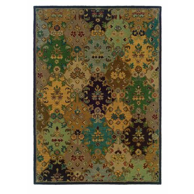 Billings Hand-Tufted Brown Area Rug Rug Size: 5 x 7