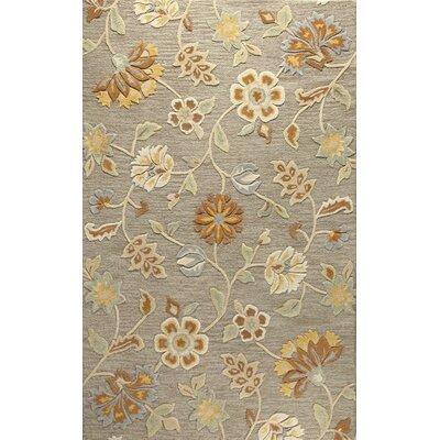 Blythewood Hand-Tufted Grey Area Rug Rug Size: 5 x 8