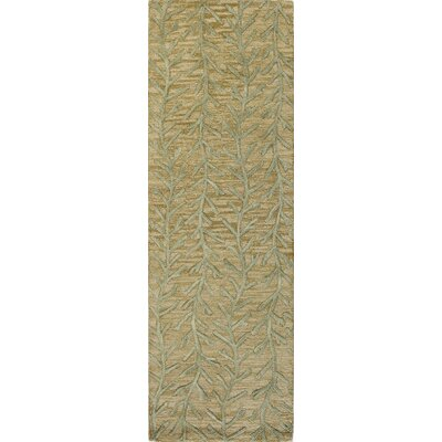 Bolger Hand-Tufted Wheat Area Rug Rug Size: Runner 26 x 8