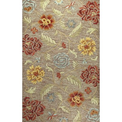 Bolivia Hand-Tufted Chocolate Area Rug Rug Size: 36 x 56