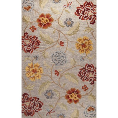 Richmondville Hand-Tufted Slate Area Rug Rug Size: Runner 26 x 8
