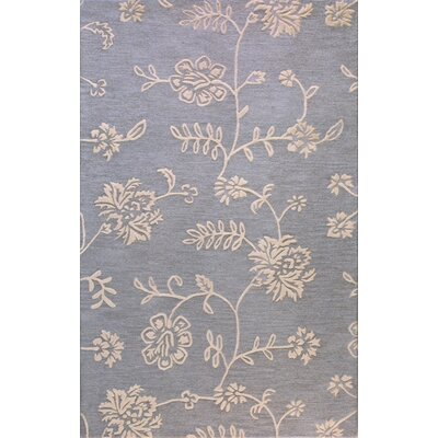 Ridgefield Hand-Tufted Light Blue Area Rug Rug Size: 3'6